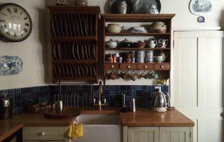 Refined Cabinet Design for Antique Interiors